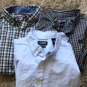 Men's Chaps shirts this is a 3 pack of them
